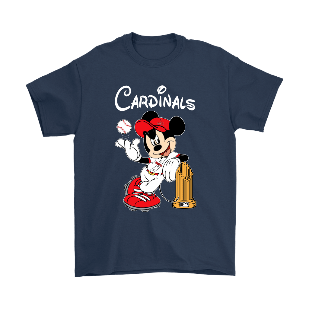 St. Louis Cardinals Mickey Taking The Trophy MLB 2018 Shirts 3