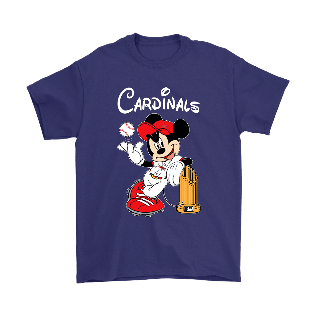 St. Louis Cardinals Mickey Taking The Trophy MLB 2018 Shirts 4