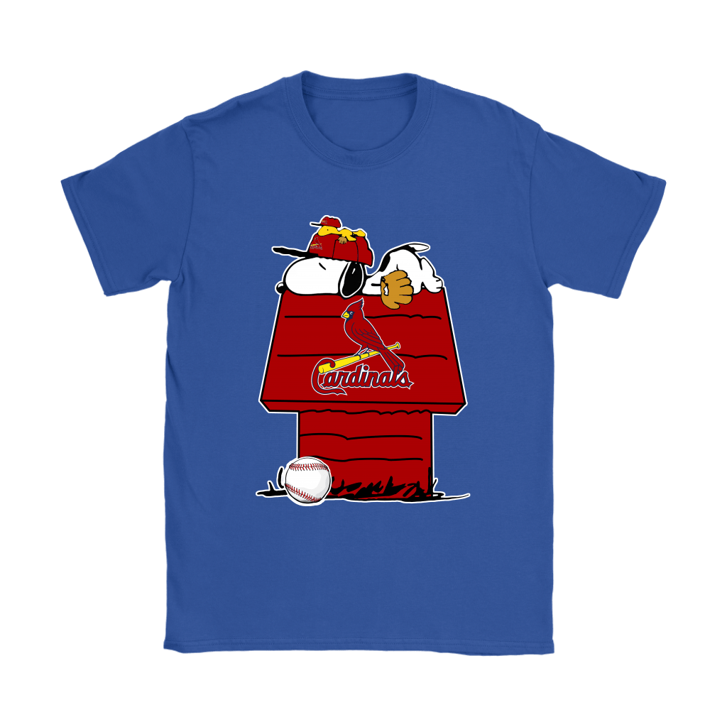 St. Louis Cardinals Snoopy And Woodstock Resting Together MLB Shirts 11