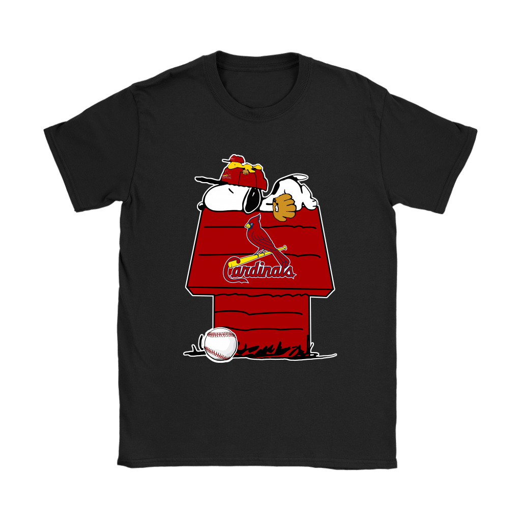 St. Louis Cardinals Snoopy And Woodstock Resting Together MLB Shirts 7
