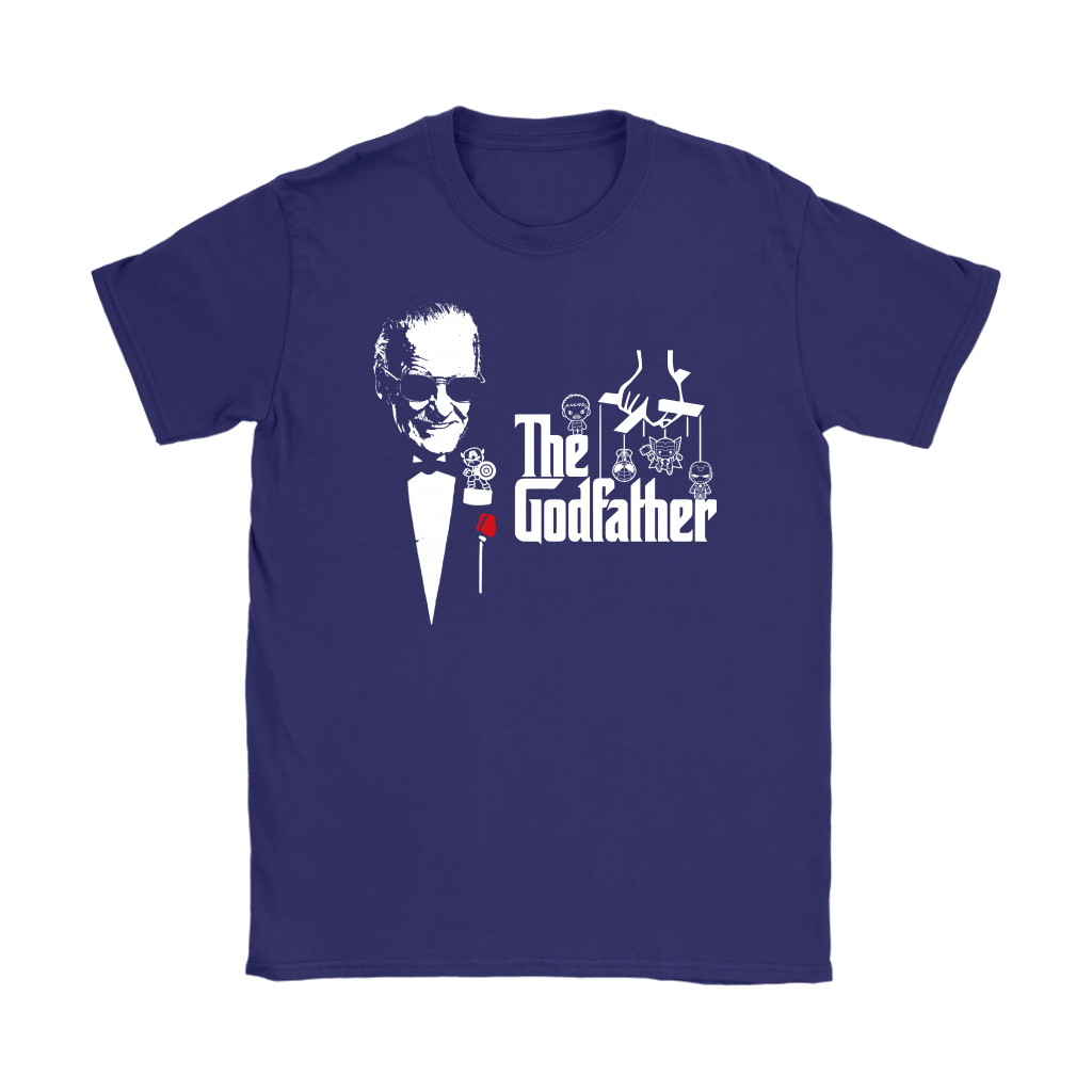 Stan Lee The Godfather Of Marvel Heroes Shirts 10