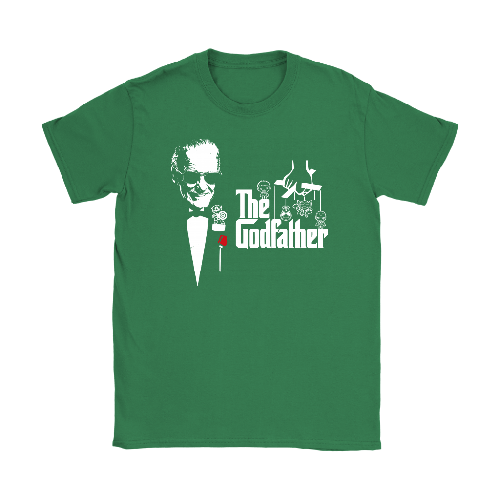 Stan Lee The Godfather Of Marvel Heroes Shirts 12
