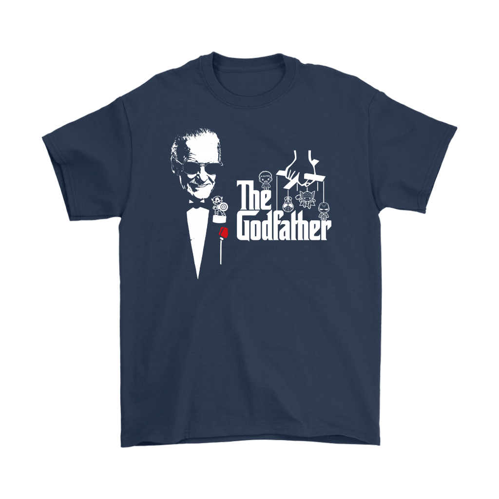 Stan Lee The Godfather Of Marvel Heroes Shirts 3