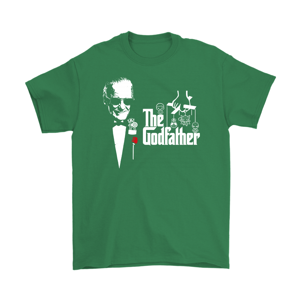 Stan Lee The Godfather Of Marvel Heroes Shirts 6