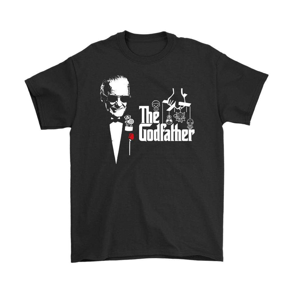 Stan Lee The Godfather Of Marvel Heroes Shirts 1
