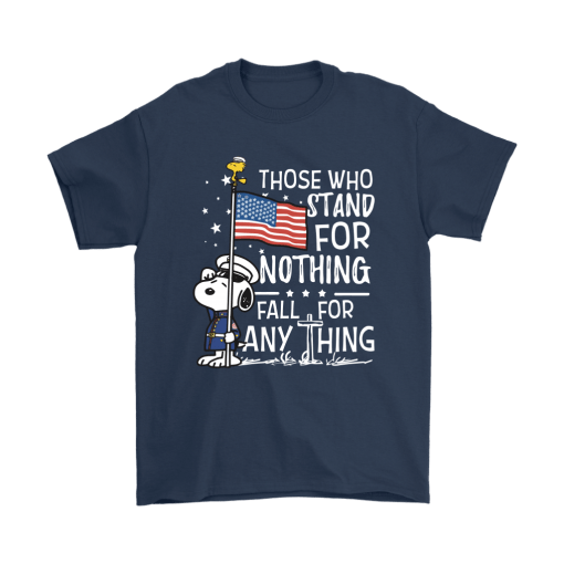 Stand For Nothing Fall For Anything U.S. Veteran Snoopy Shirts 3
