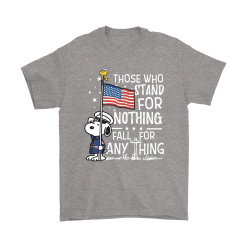 Stand For Nothing Fall For Anything U.S. Veteran Snoopy Shirts 20