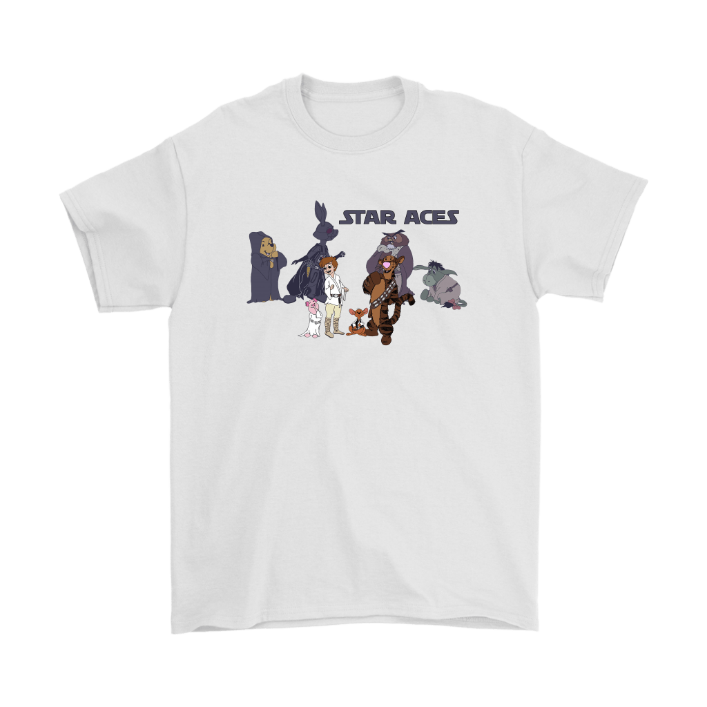 Star Aces Star Wars And Winnie The Pooh Shirts 1