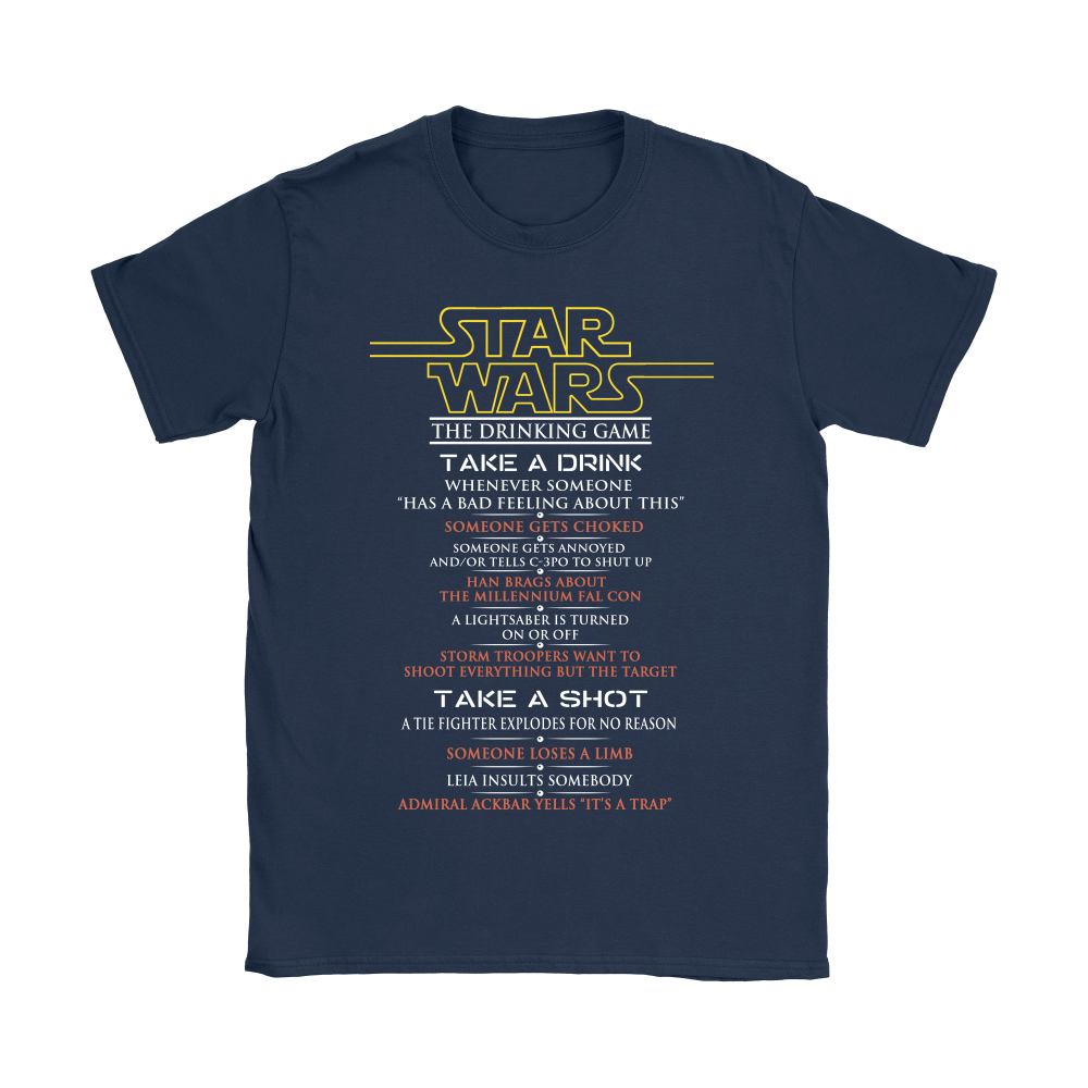 Star Wars The Drinking Game Shirts 8