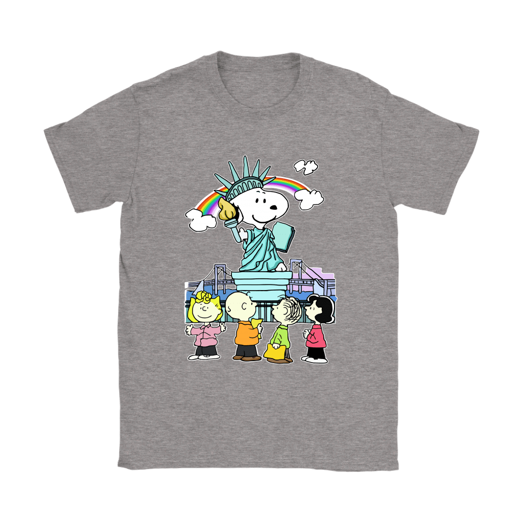 Statue Of Liberty Snoopy Shirts 13