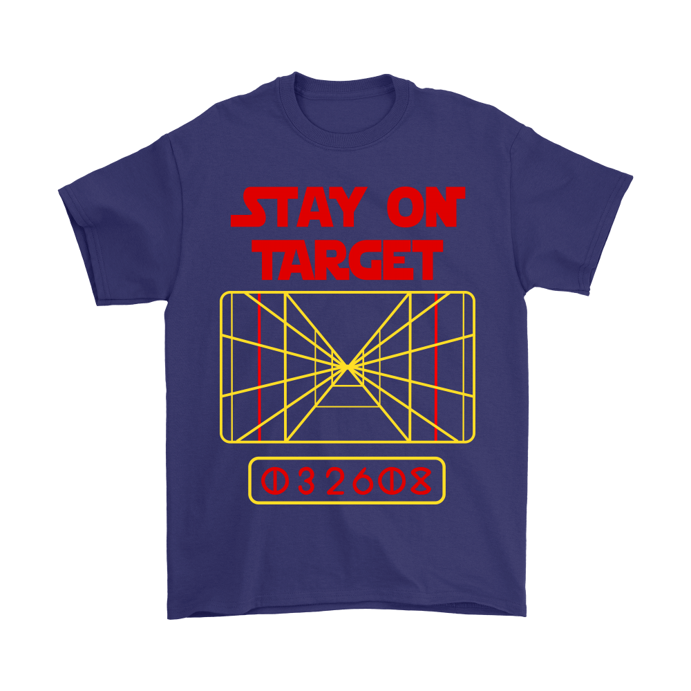 Stay On Target Distance 032608 Star Wars Shirts 3