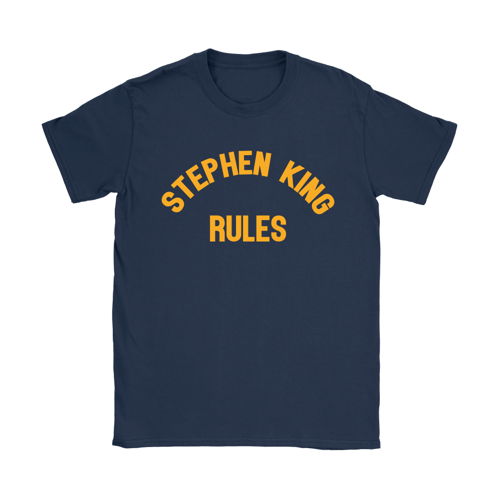 Stephen King Rules Book Lover Shirts 9