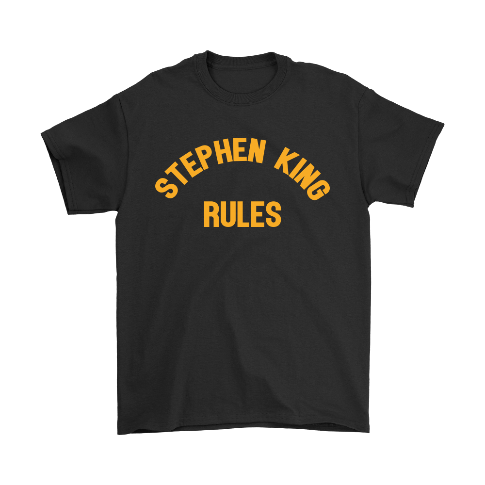 Stephen King Rules Book Lover Shirts 1