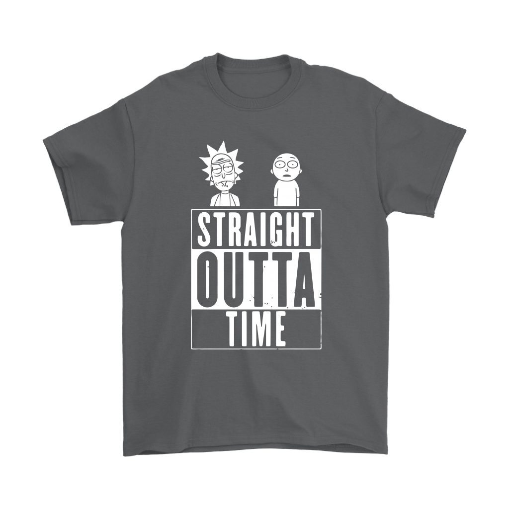 Straight Outta Time Rick And Morty Shirts 2