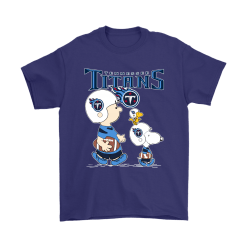 Tennessee Titans Let's Play Football Together Snoopy NFL Shirts 15