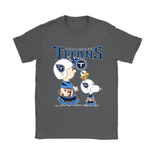 Tennessee Titans Let's Play Football Together Snoopy NFL Shirts 8