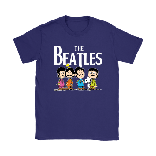The Beatles With Woodstock And Snoopy Shirts 11