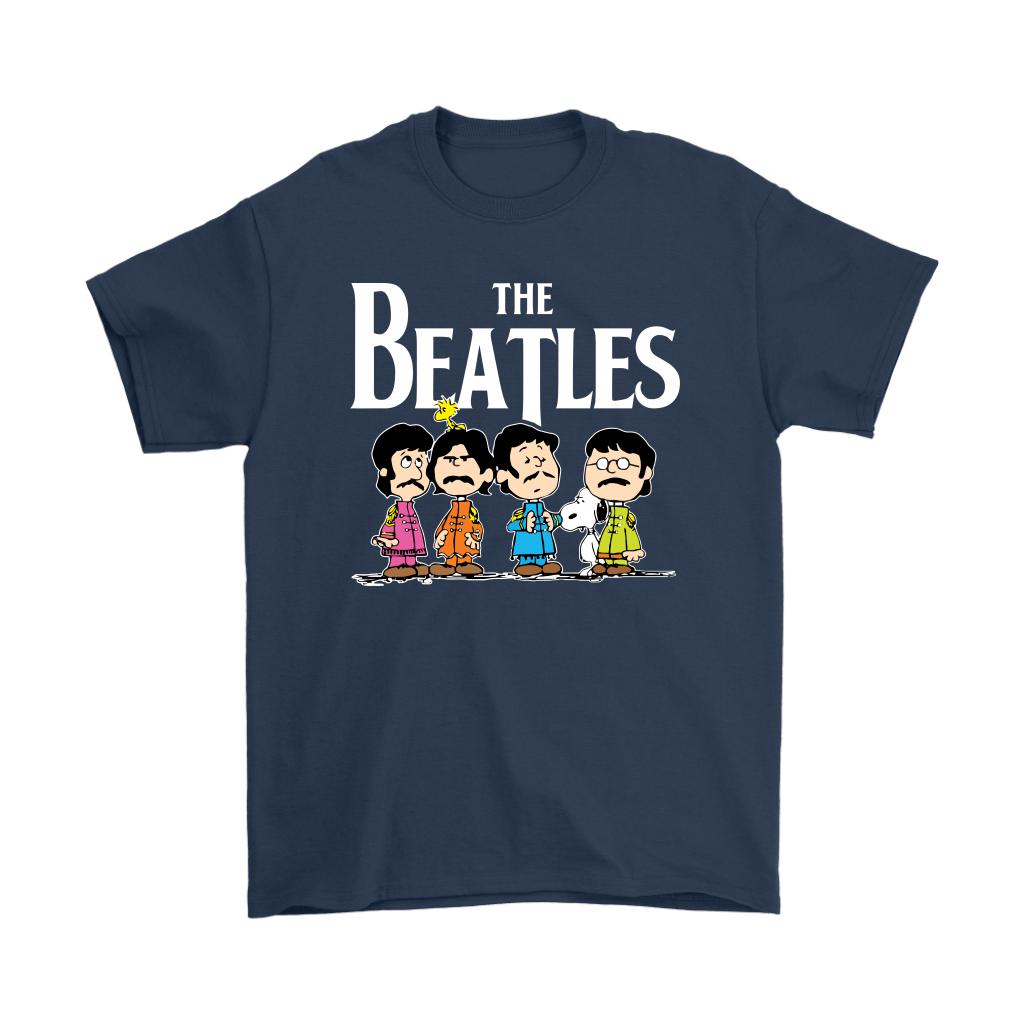 The Beatles With Woodstock And Snoopy Shirts 3