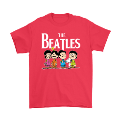 The Beatles With Woodstock And Snoopy Shirts 18