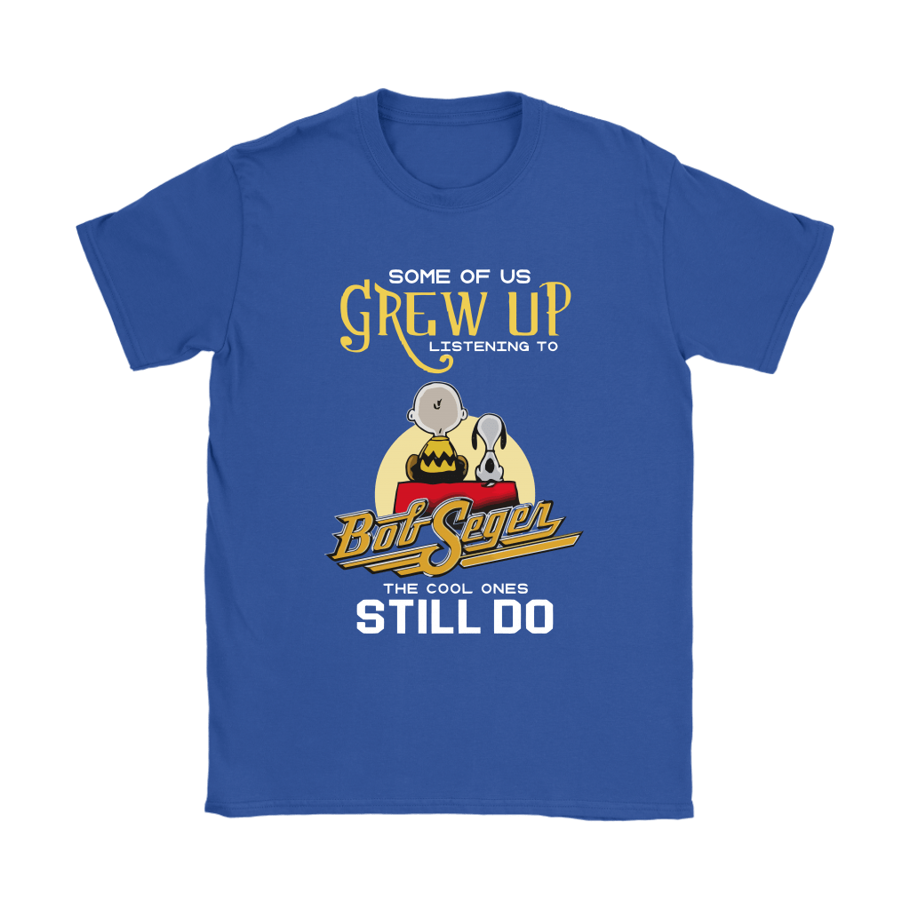 The Cool Ones Still Listening To Bob Seger Music Snoopy Shirts 12