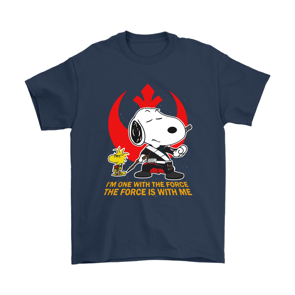 The Force Is With Me Star Wars Snoopy Shirts 3