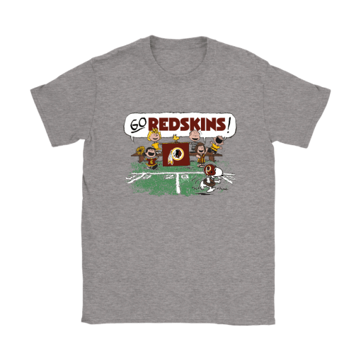 The Peanuts Cheering Go Snoopy Washington Redskins Shirts 3