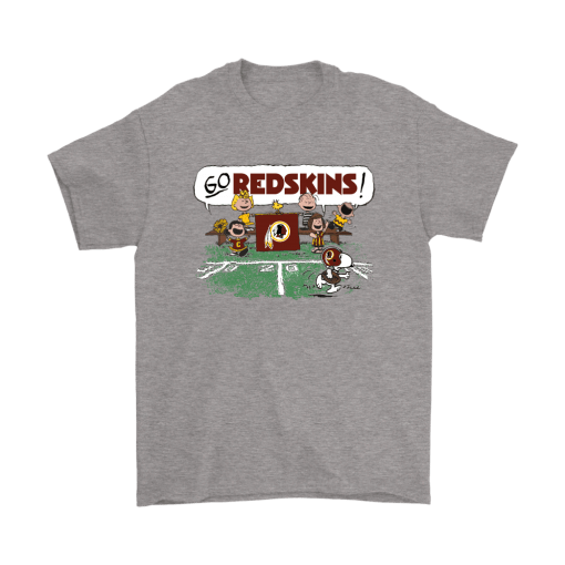 The Peanuts Cheering Go Snoopy Washington Redskins Shirts 1