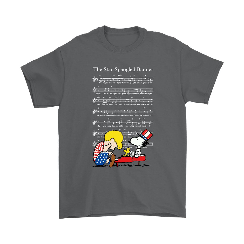 The Star-Spangled Banner Snoopy Independence Day 4th Of July Shirts 2