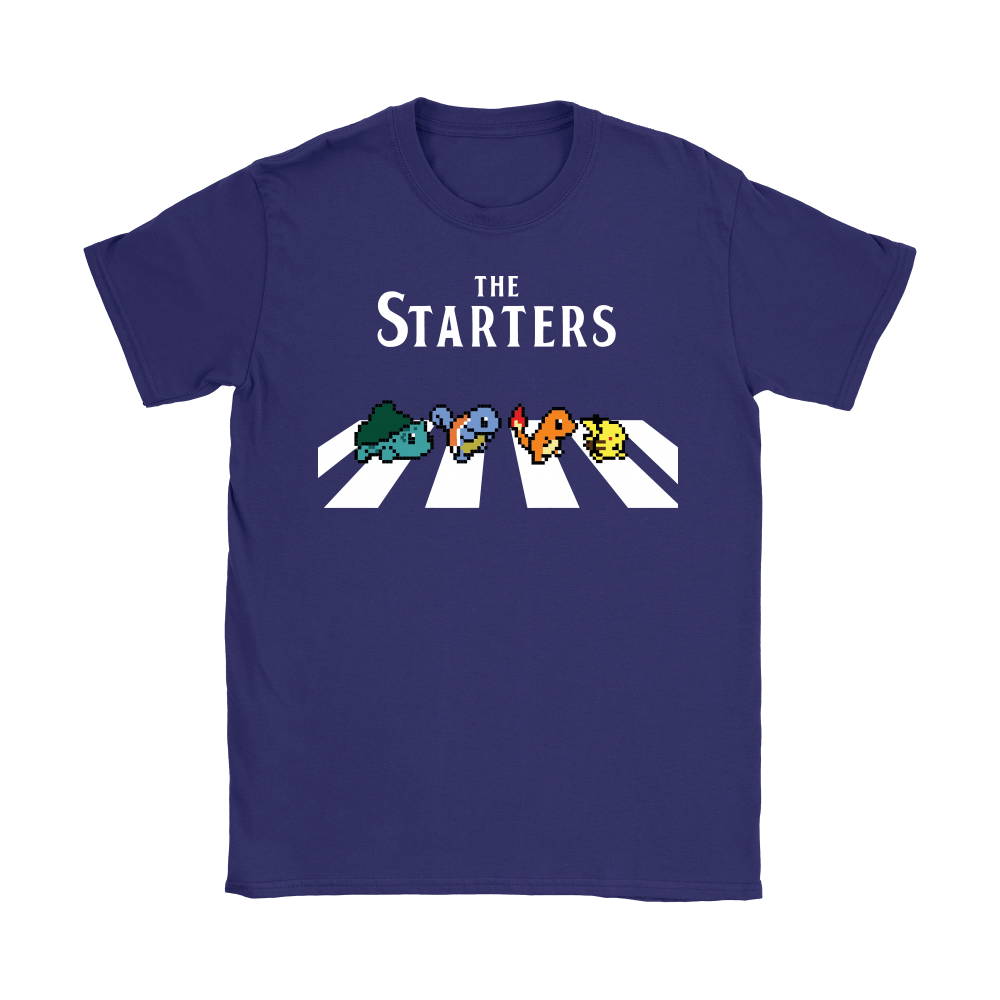 The Starters Abbey Road Pokemon Shirts 12