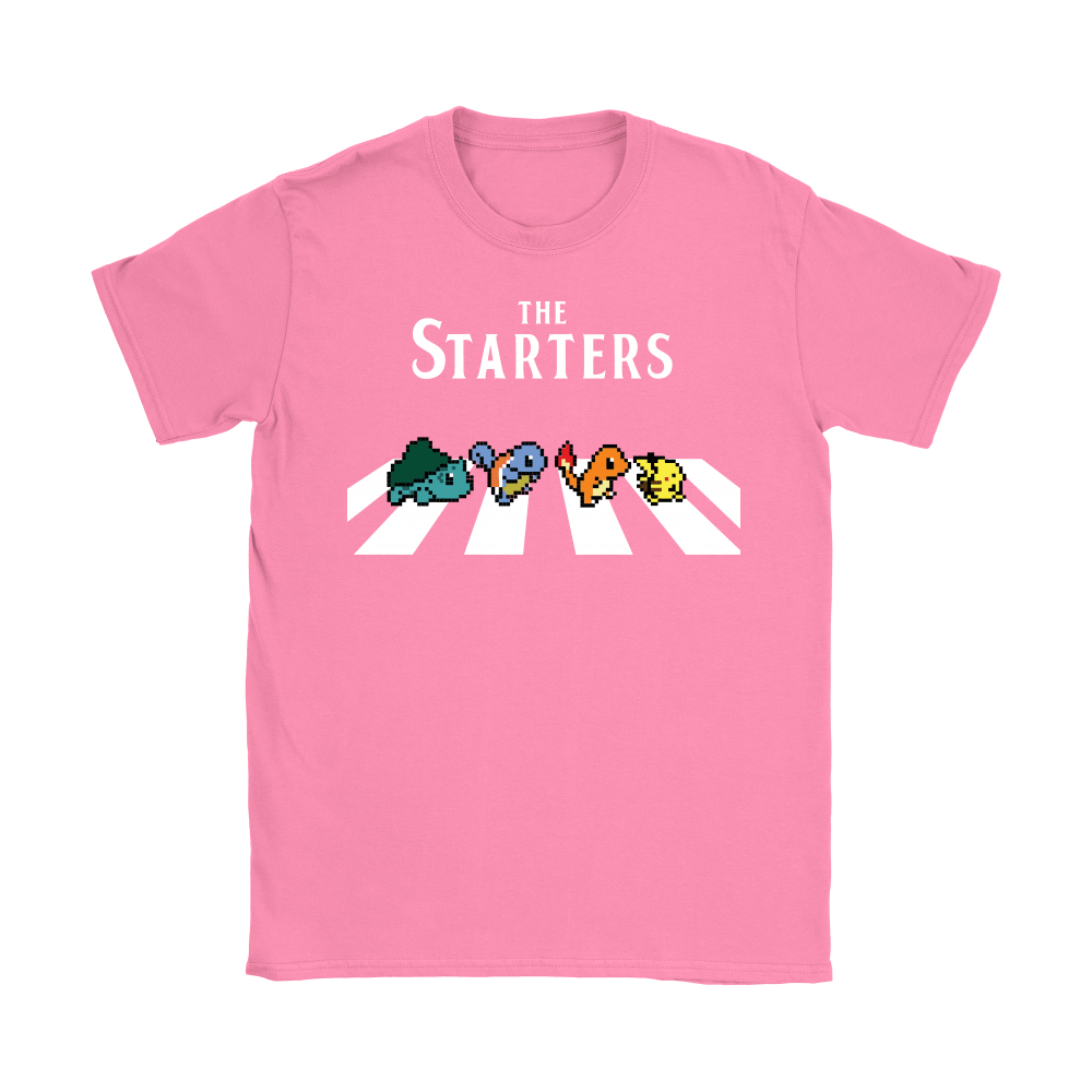 The Starters Abbey Road Pokemon Shirts 9