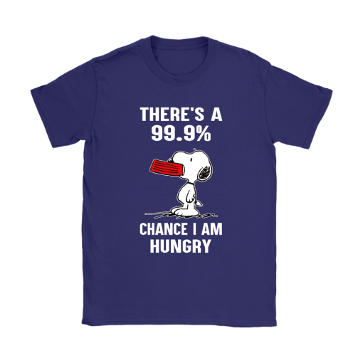 There's A 99,9% Chance I Am Hungry Snoopy Shirts 11