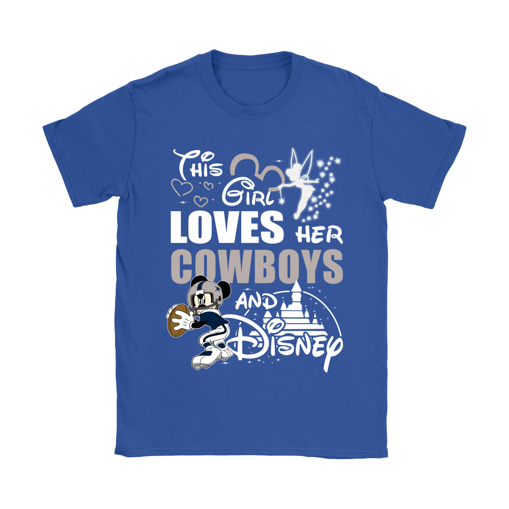 This Girl Loves Her Dallas Cowboys And Mickey Disney Shirts 10