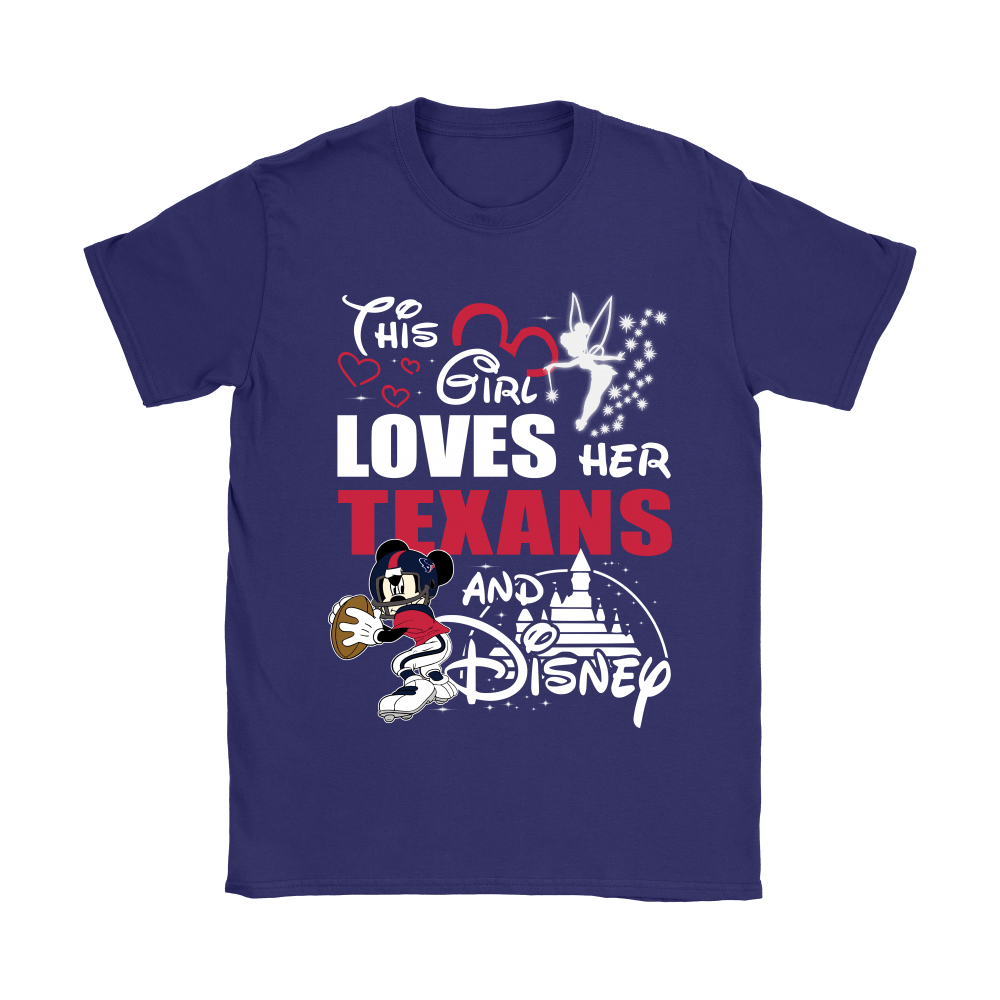 This Girl Loves Her Houston Texans And Mickey Disney Shirts 11