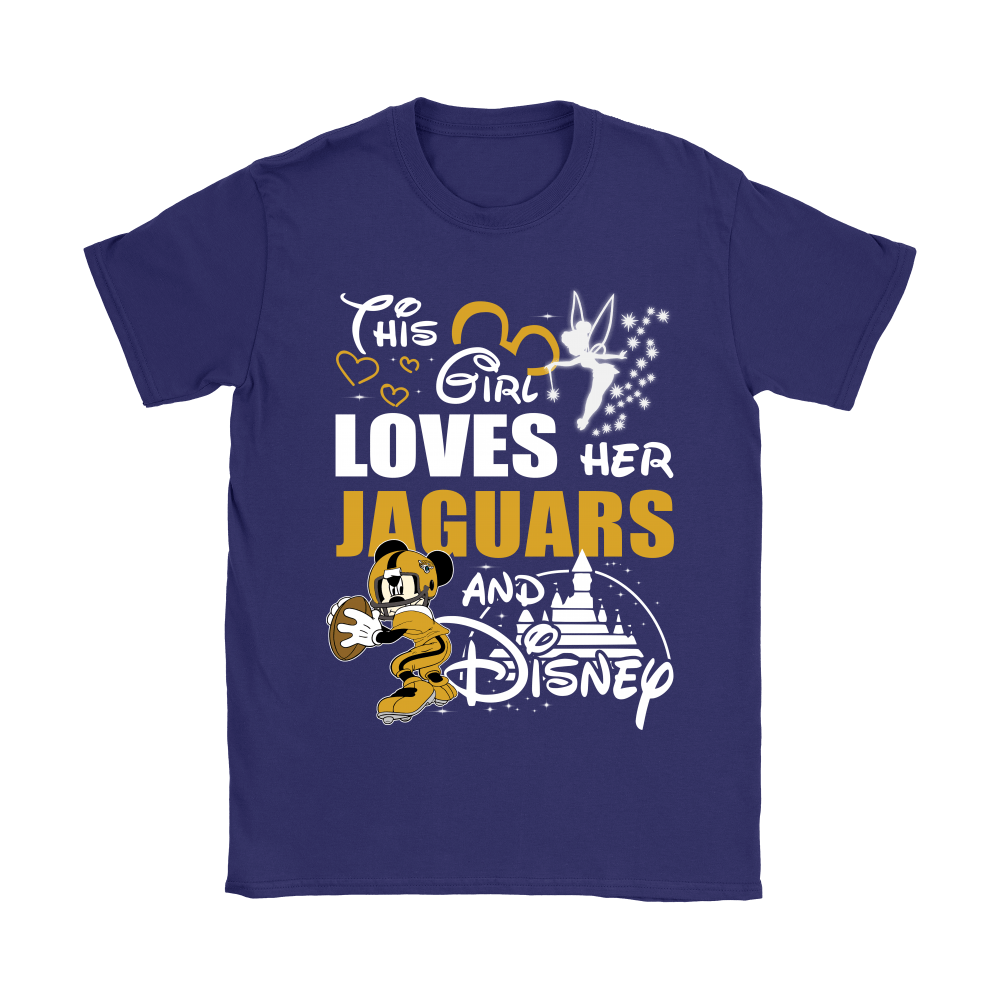 This Girl Loves Her Jacksonville Jaguars And Mickey Disney Shirts 10