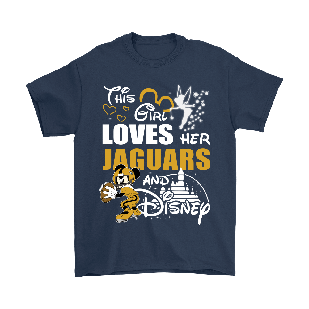This Girl Loves Her Jacksonville Jaguars And Mickey Disney Shirts 3