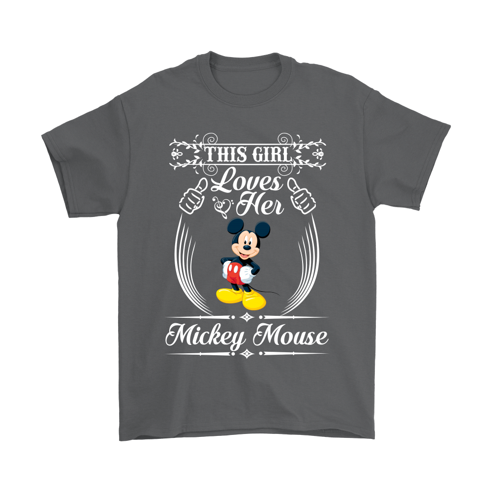 This Girl Loves Her Mickey Mouse Shirts 2