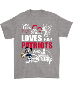 brand new c6045 39dc7 This Girl Loves Her New England Patriots And Mickey Disney Shirts
