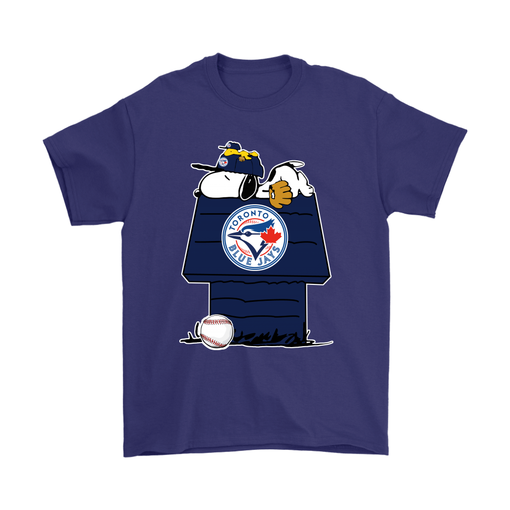 Toronto Blue Jays Snoopy And Woodstock Resting Together MLB Shirts 4