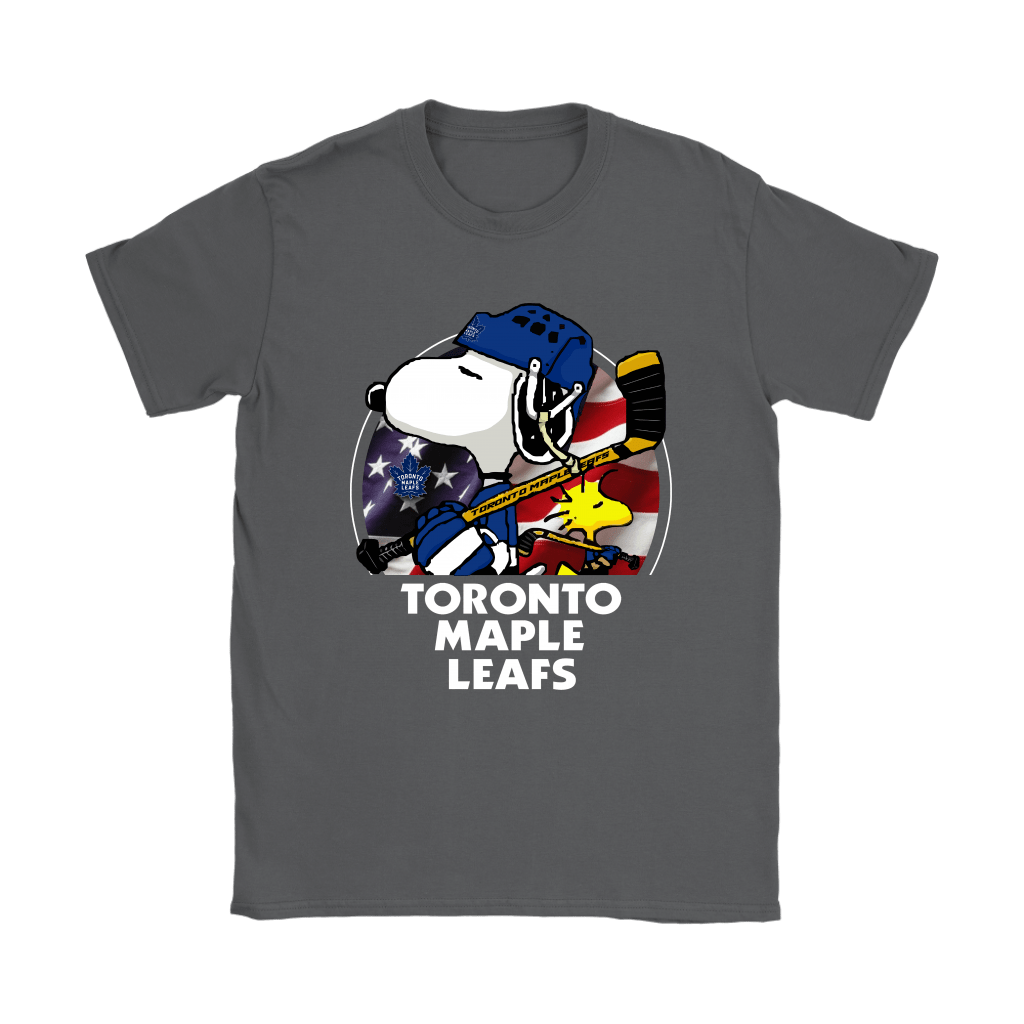 Toronto Maple Leafs Ice Hockey Snoopy And Woodstock NHL Shirts 8