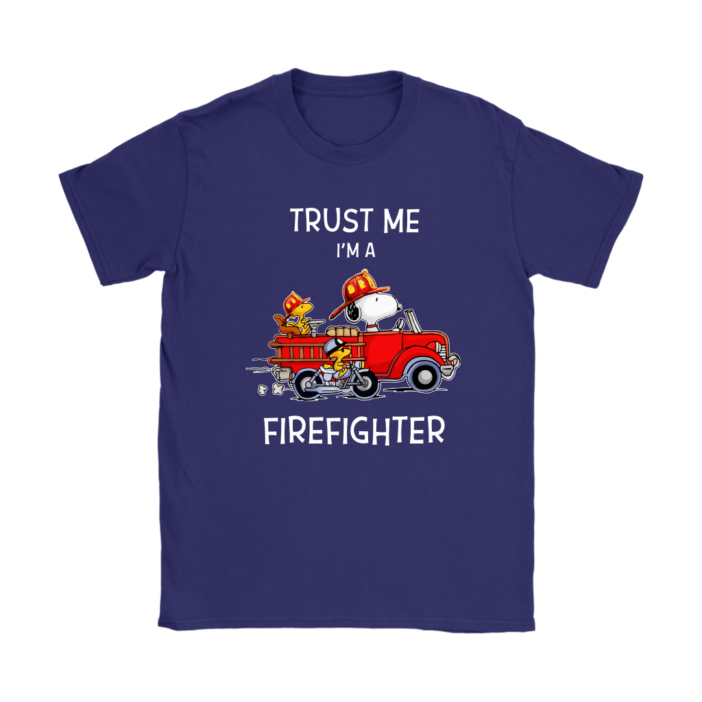 Trust Me I'm A Firefighter Snoopy Shirts 11