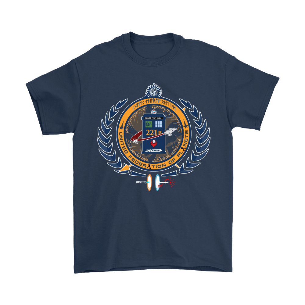 United Federation Of Planets And Universes Ultimate NERDs Shirts 3
