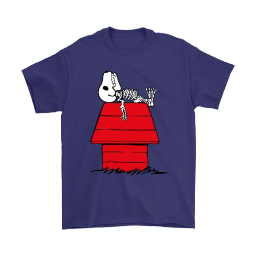 Waiting For Halloween Funny Snoopy Shirts 4