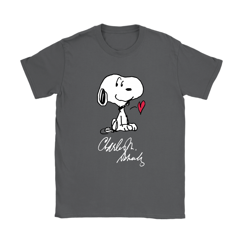 We All Love Charles M Schulz Snoopy Shirts 10