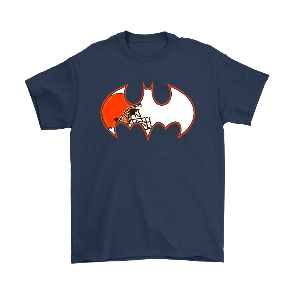 We Are The Cleveland Browns Batman NFL Mashup Shirts 3
