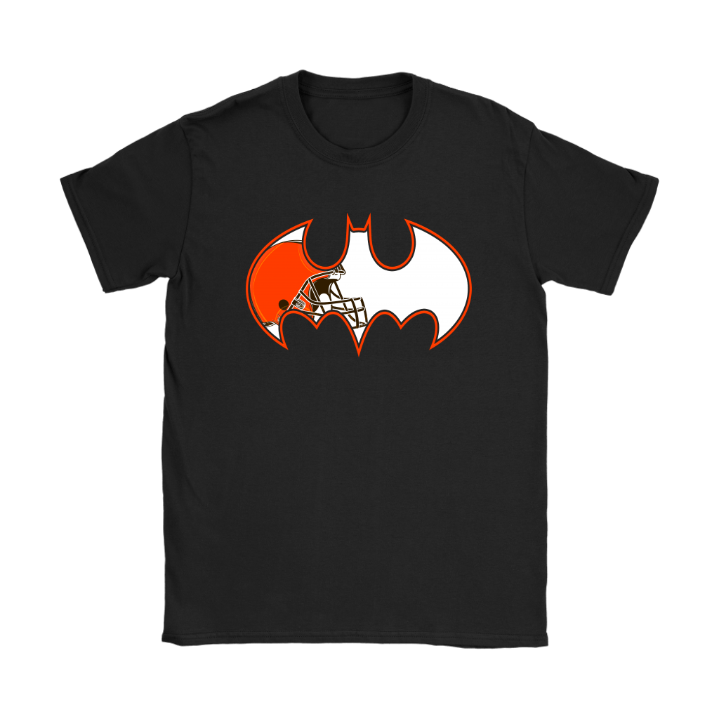 We Are The Cleveland Browns Batman NFL Mashup Shirts 7