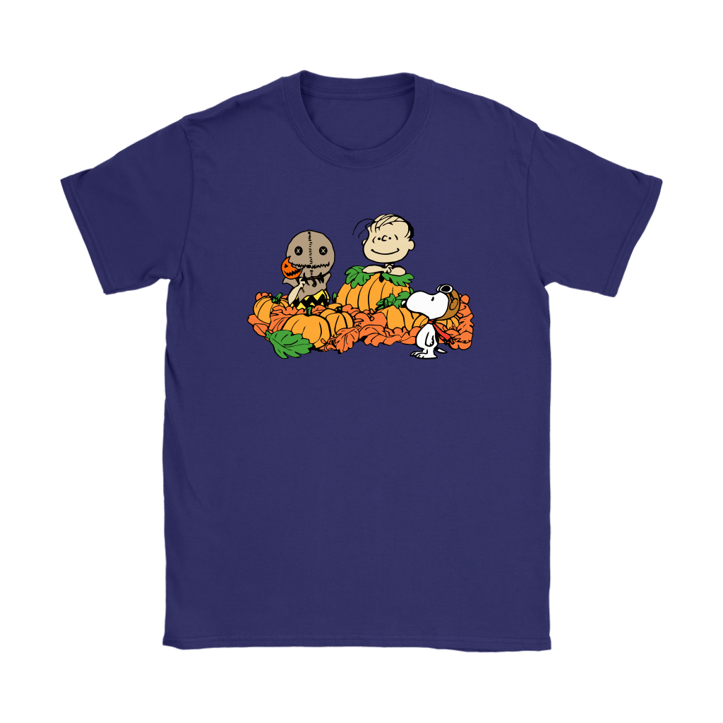 Welcome The Great Pumpkin Sam Brown Halloween Snoopy Shirts 11
