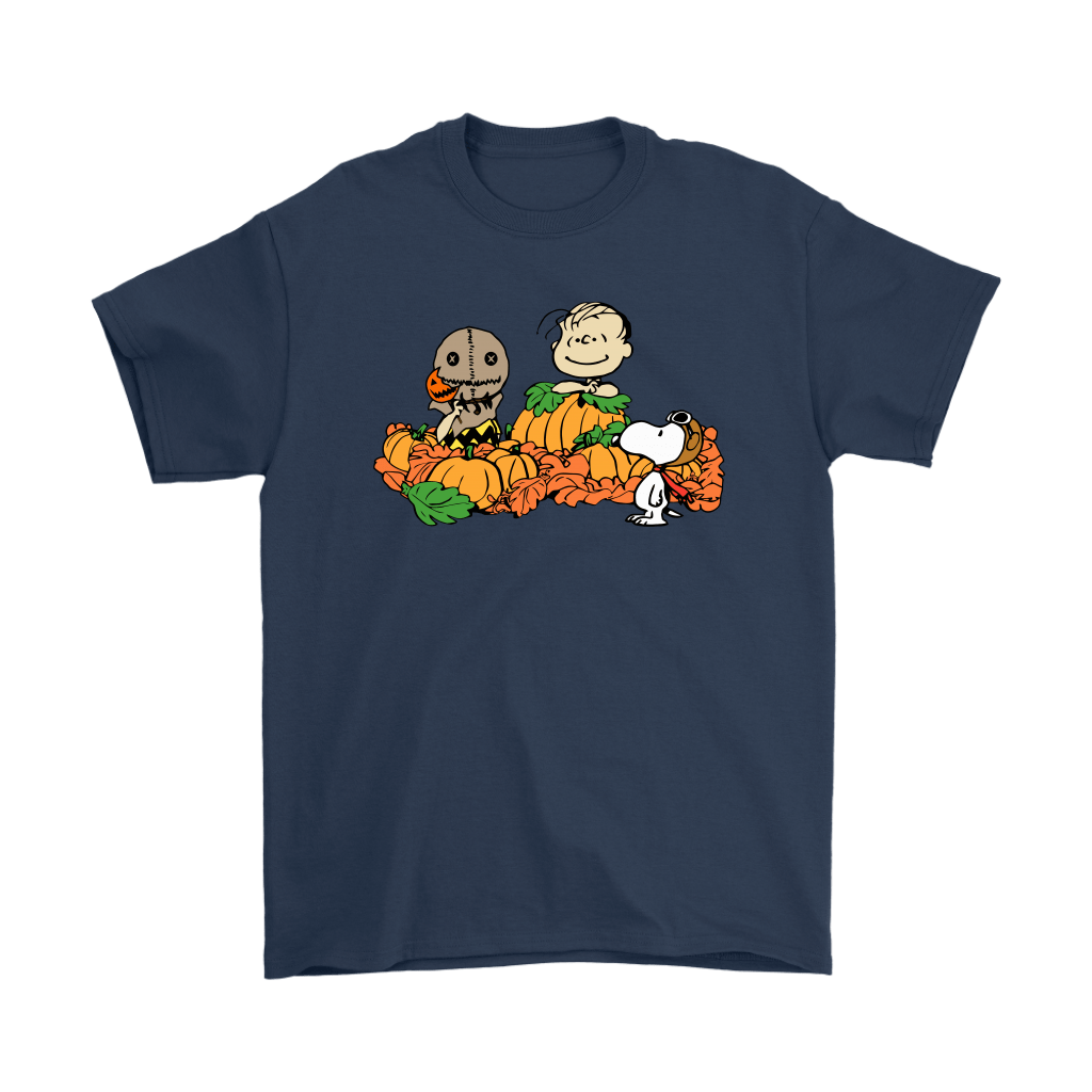 Welcome The Great Pumpkin Sam Brown Halloween Snoopy Shirts 3