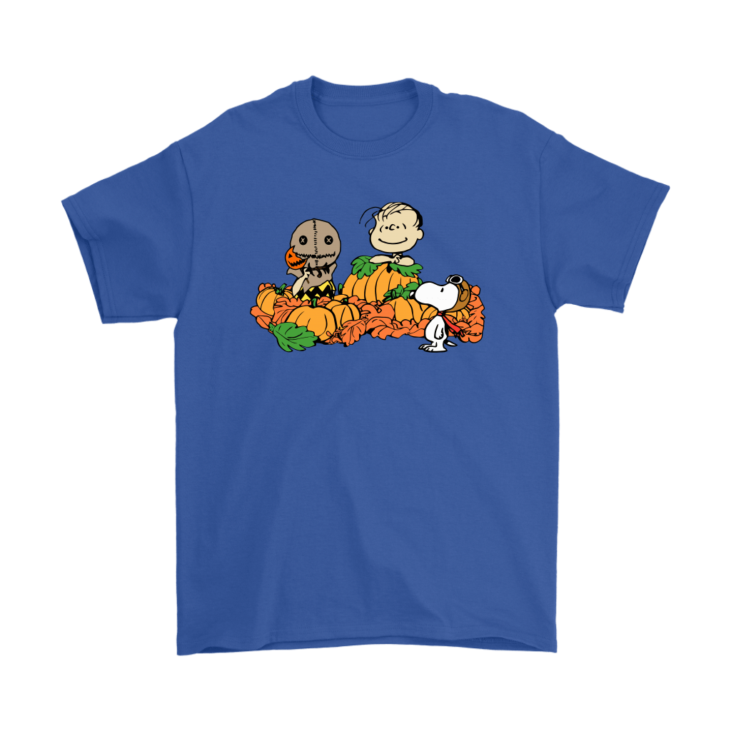 Welcome The Great Pumpkin Sam Brown Halloween Snoopy Shirts 5
