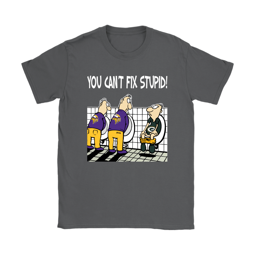 You Can't Fix Stupid Funny Minnesota Vikings NFL Shirts 22
