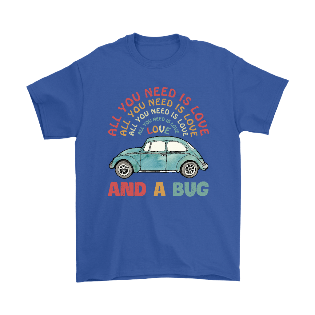 All You Need Is Love And A Bug The Beatles Car Shirts 5